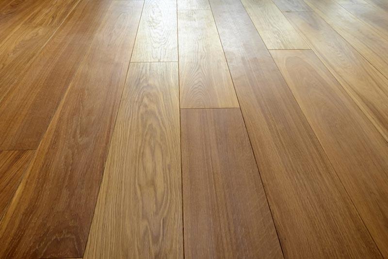 Brown Hardwood Floor Installed